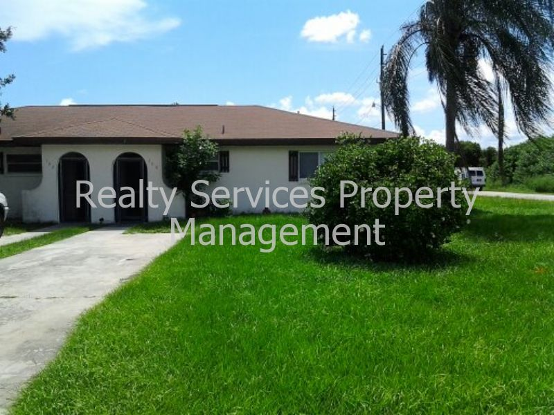 Duplex for Rent in Lehigh Acres