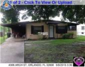 4306 Arch Street, Orlando, FL, 32808