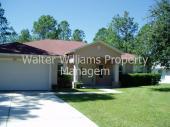 $1200, 4 bedroom, 3 bath, 2 car Palm Coast house.