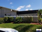 Private lanai - with-in walking distance of community pool and fishing lake
